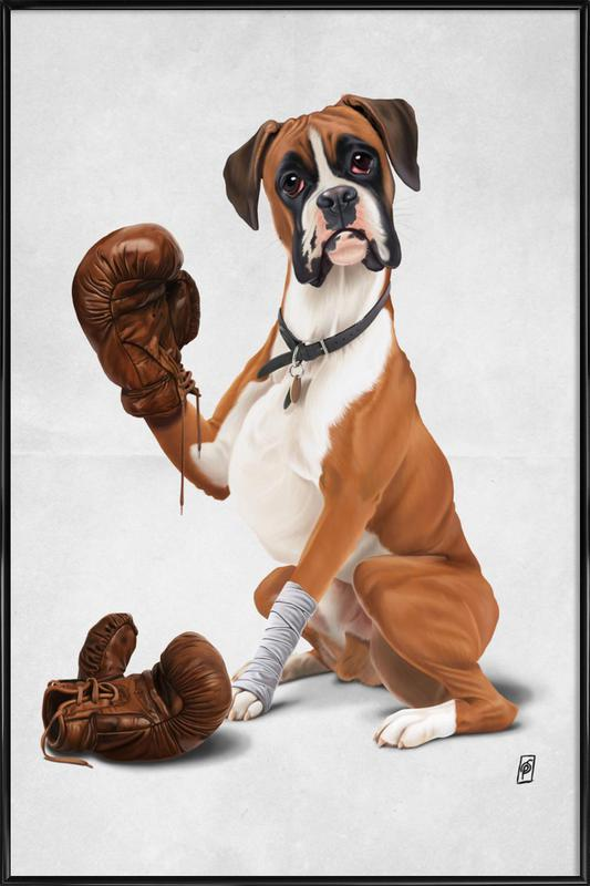 Boxer Dog Pictures and Paintings